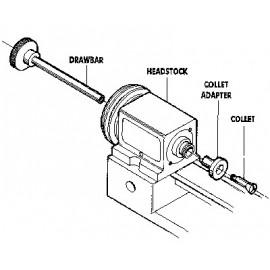 1161 adaptor pensete strung precizie Sherline