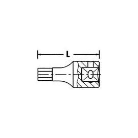 """23744 Cheie HEX 1/4"""", 2 mm, Proxxon"""