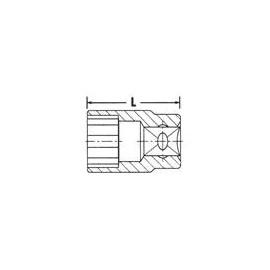 "23400 Cheie tubulara 1/2"", 8 mm, Proxxon"