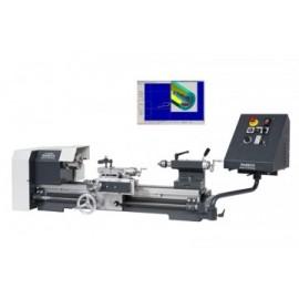 Strung de banc WABECO CNC, CC-D6000E soft NCCAD Basic, universal 100mm