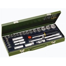23000 Trusa de chei tubulare 1/2'', Proxxon