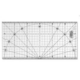Rigla gradata MQR 15X30 cm, Olfa