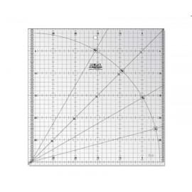 Rigla gradata MQR 30X30 cm, Olfa