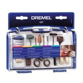687 Set 52 accesorii multifunctional miniatura, Dremel