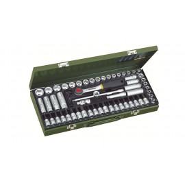 """23112 - Trusa Proxxon  super-compacta 3/8"""", 65 piese"""