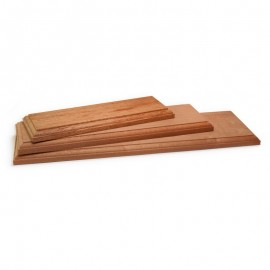 5696/30 Baza lemn masiv 300x100mm pt modele modelism