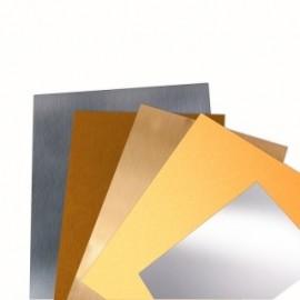 2700 /10 Foaie de tabla de alama pentru modelism 1 x 220x170 mm