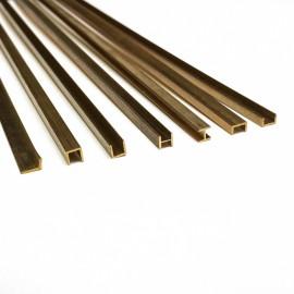 2770/02 Profil U  alama pt modelism 1 x 1  x 500mm