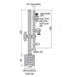 Suport magnetic pentru ceas comparator