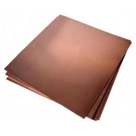 HOB C 002 Foaie de tabla de cupru pentru modelism 0.5x250x500mm
