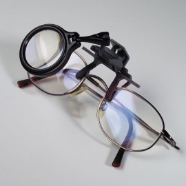 Lupa fixare pe ochelari, marire 5X, pentru modelism/hobby