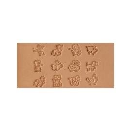 Set stante pielarie ANIMALE 8159-00 Tandy Leather SUA