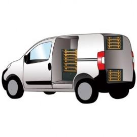Modul depozitare / auto de scule si accesorii. 49 x 34 x 99cm