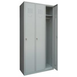 Vestiar metalic 2 usi, 600x450x1800 mm