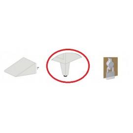 Picioare reglabile vestiar metalic