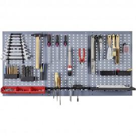 Kit 3 panouri perforate vertical/orizontal 1200x600 pentru scule profesionale