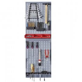 Kit 2 panouri perforate vertical/orizontal 800x600 pentru scule profesionale