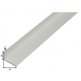"""Profil unghi """" L"""" aluminiu, 1000 mm"""