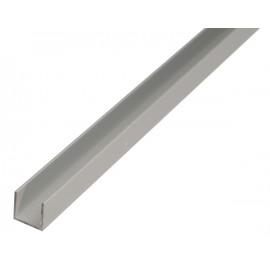 """Profil aluminiu forma """"U"""",Ø 10-22 ,1000 mm"""