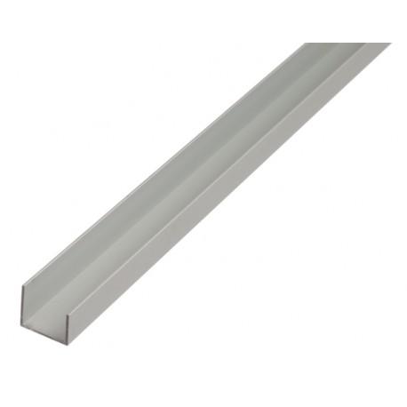 """Profil aluminiu forma """"U"""" ,1000 mm"""
