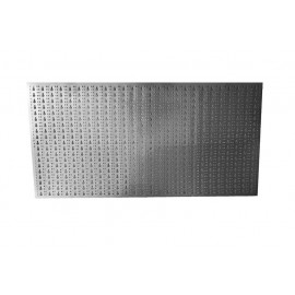 Panou perforat orizontal de 1000x500mm  din INOX