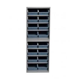 Dulap 16  cutii depozitare, 1310 x515 x2000 mm