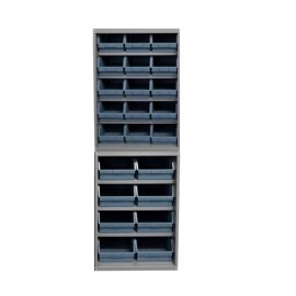 Dulap 23 cutii depozitare, 1310 x 2000 mm