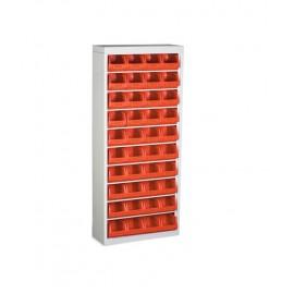 BD 03 Stand cutii organizare / depozitare piese 700x1600x260 mm