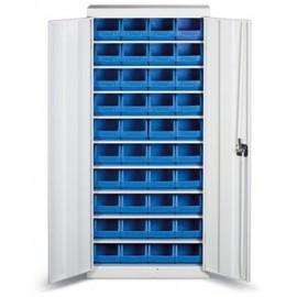 GAD 03 Dulap cutii cu usi organizare / depozitare piese
