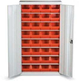GAD 04 Dulap cutii cu usi organizare / depozitare piese 900x1800x400 mm