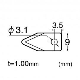 Lama speciala pt cuttere circulare HEAVY DUTY - NT Cutter .
