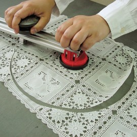 Cutter profesional textile pt taiere circulara 20 - 100cm NT Cutter