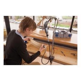 2222 Suport scule cu ax flexibil, miniatura/hobby, Dremel