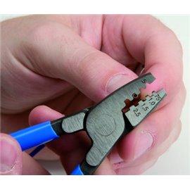 424/4P Clesti de sertizat, 180 mm Unior