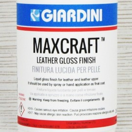 Lac lucios pentru piele vopsita Giardini