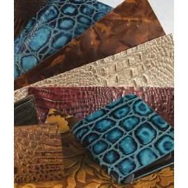 Bucati piele embosata, 215x279mm, Tandy Leather SUA