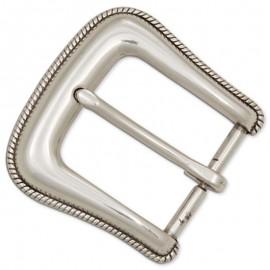 Catarama curea cu aspect de argint antichizat 38 mm Tandy Leather SUA