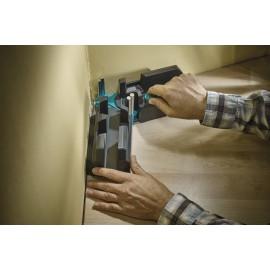 Echer reglabil și dispozitiv de ghidare pentru tăiere parchet si plinte Wolfcraft, 70mm