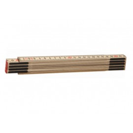 Metru lemn carpen 2 m, imbinari din otel