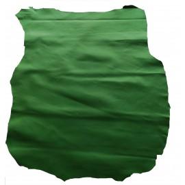 Piele capra captuseala/proiecte mici,verde