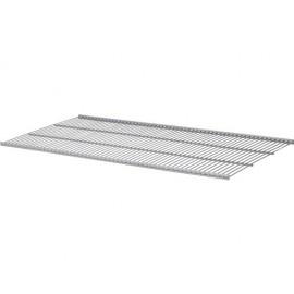Set polita plasa metalica Dolle Gridboards 800x406x10 mm, argintie, pentru rafturi modulare