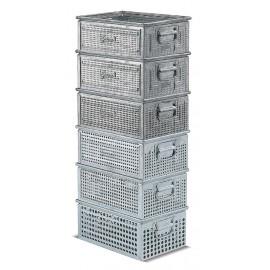 Cutie depozitare metalica vopsita/zincata -165x95x75mm