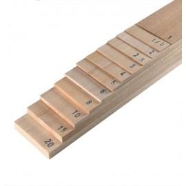 Placa din lemn de Balsa 100x1000