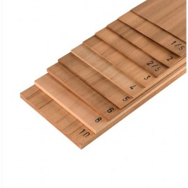 Placaj din lemn de Dibetou 150x500