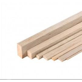 Tija din lemn de Balsa