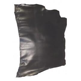 Poale piele tabacita vegetal, neagra 1.3-1.4 mm grosime