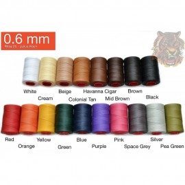 Ata de cusut piele RITZA 25 -Tiger Thread - 25m - 0.6 mm grosime