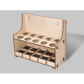 TH10 Suport cutite cioplit in lemn BeaverCraft