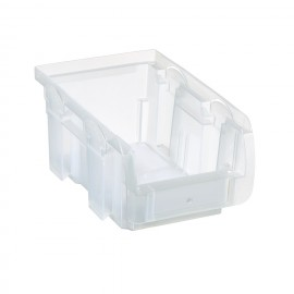 Cutie organizare/depozitare transparenta, 102 x 160 x 75 mm