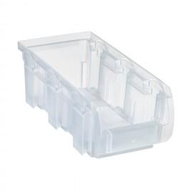 Cutie organizare/depozitare transparenta, 102x215x75 mm
